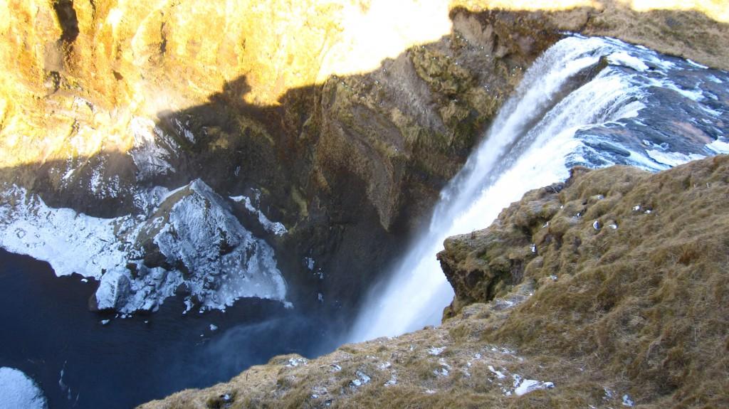 Cascade de Skogafoss 3