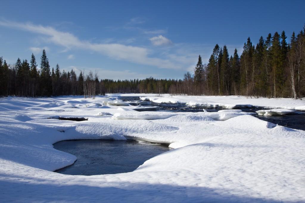 hossa riviere gelé