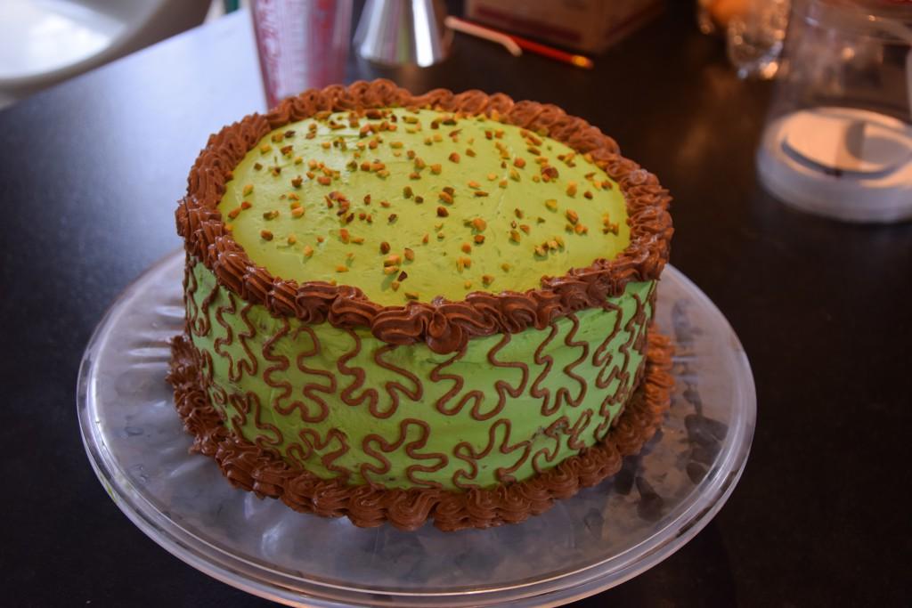 glaçage gâteau