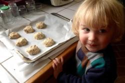 boules de pâte à cookies