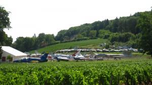 Collection extérieur vignes