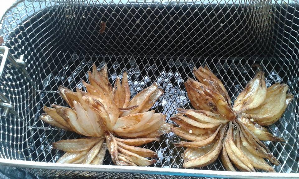 beignets oignons
