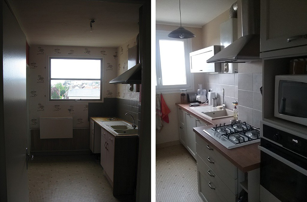 R nover une petite cuisine petit prix sous notre toit - Renover sa cuisine a petit prix ...
