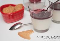 Recette de panna cotta aux fruits rouges