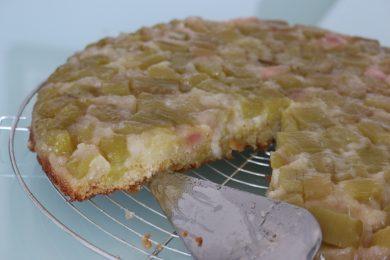 Recette gâteau rhubarbe