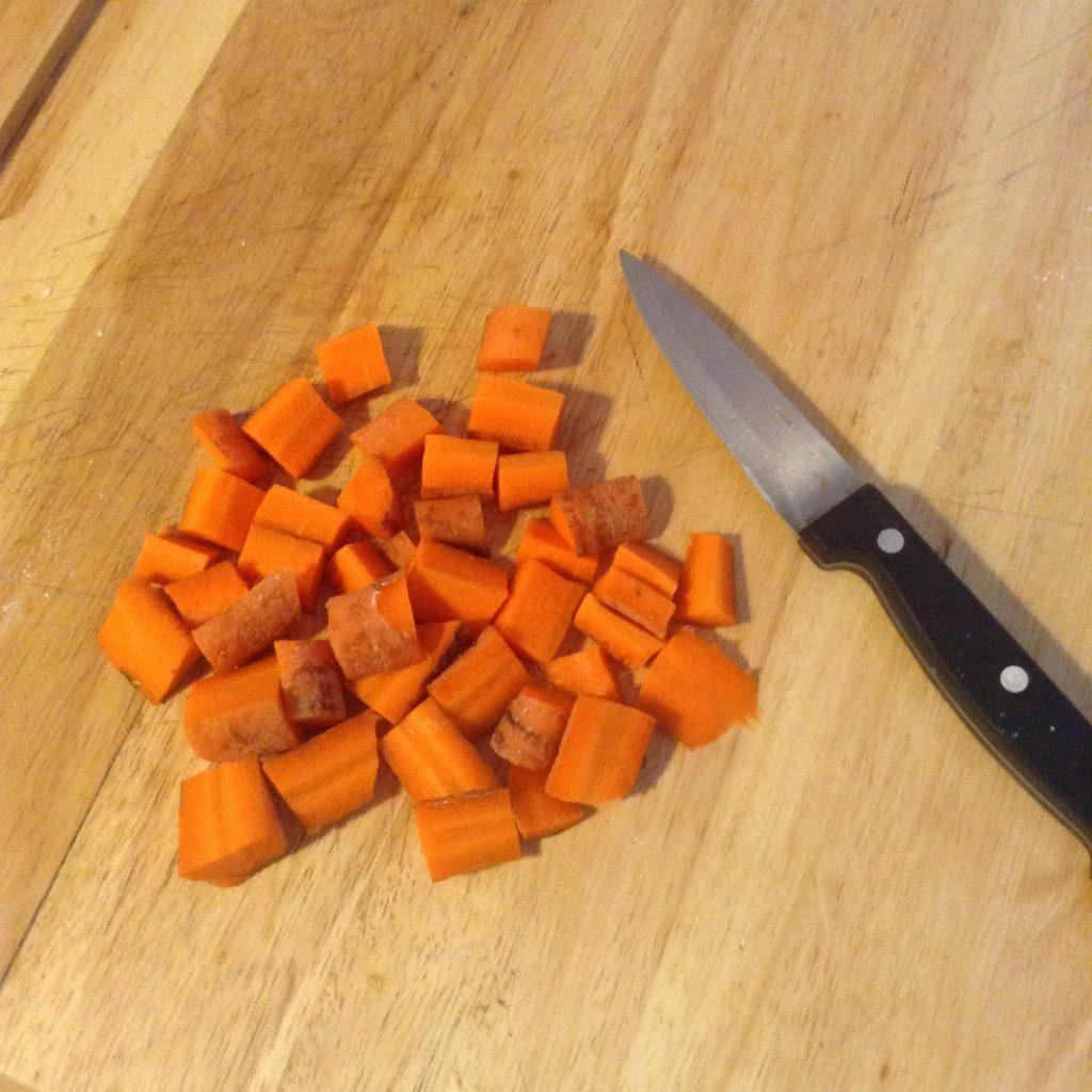 Savon exfoliant carotte