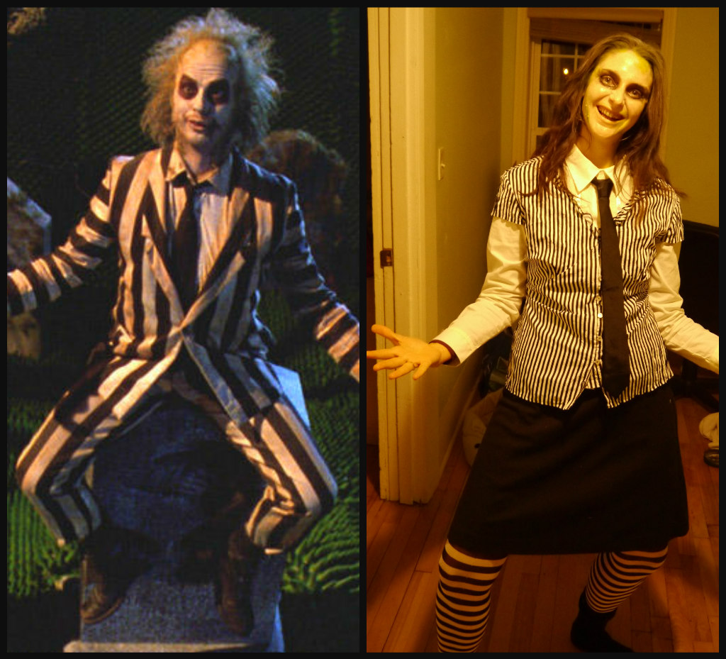 Collage Beetlejuice