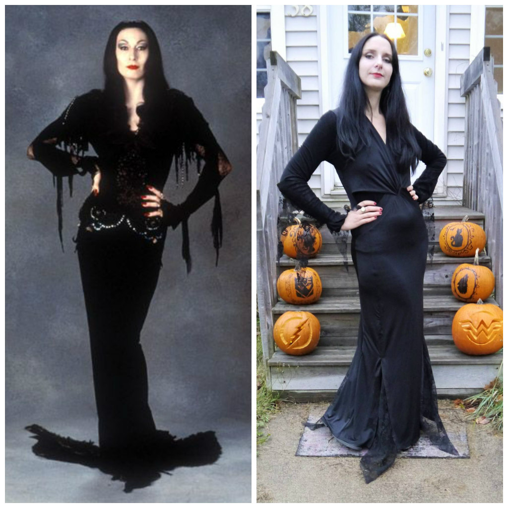 Collage Morticia