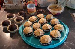 Cupcakes beurre de cacahuètes