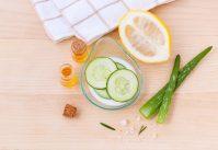Cosmétiques naturels pour peau grasse