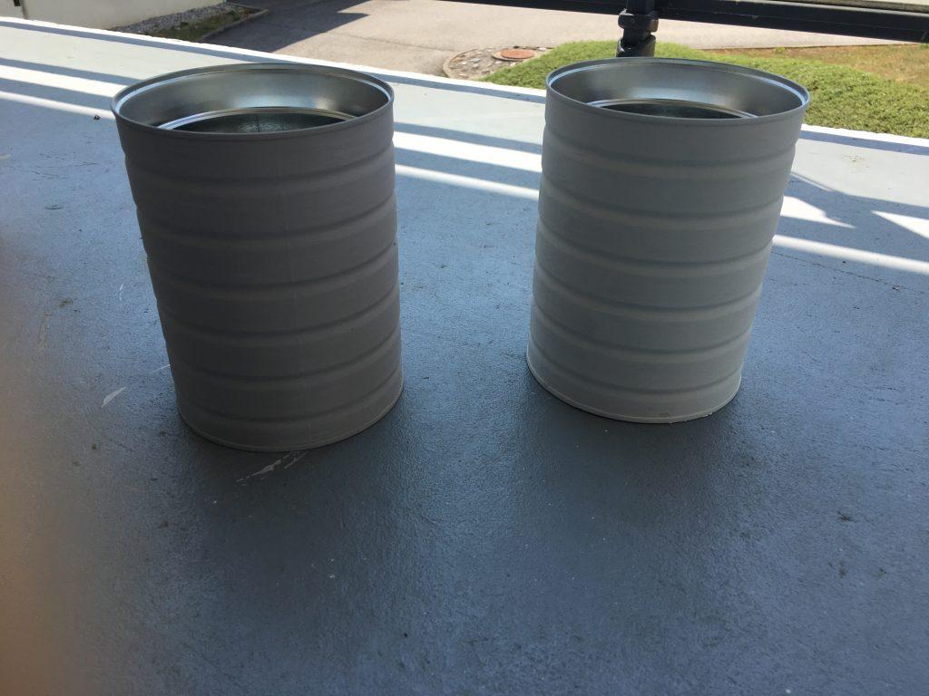 DIY : un pot à ustensiles de cuisine à partir d'une boîte de lait maternisé