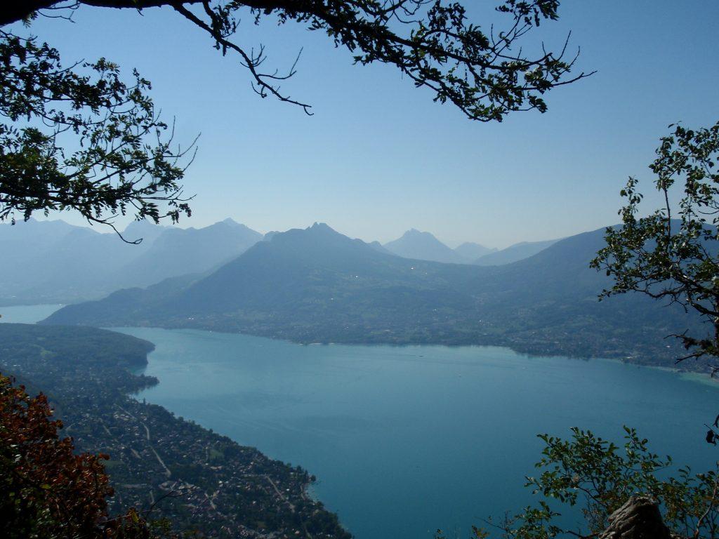 Vue depuis le Mont Veyrier