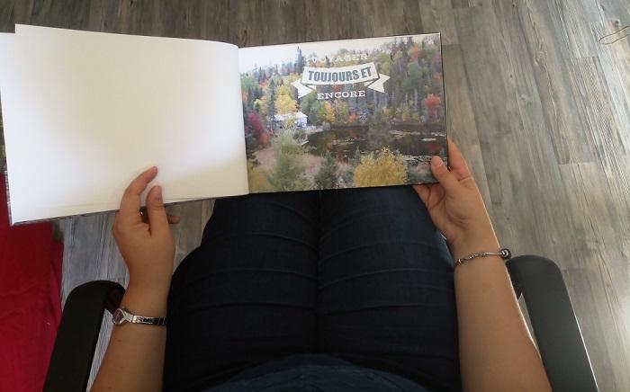 Test et avis d'un livre photo avec Flexilivre