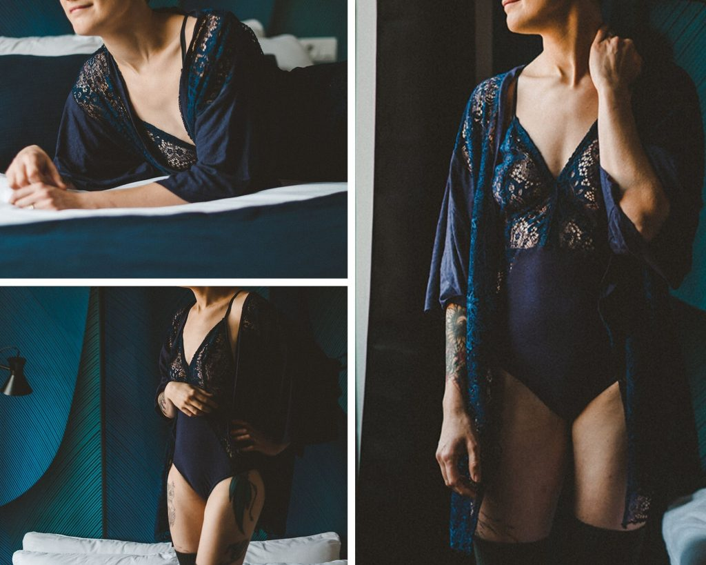Tutoriel DIY : un joli body en dentelle et son kimono assorti // Photos : Amandine Gimenez