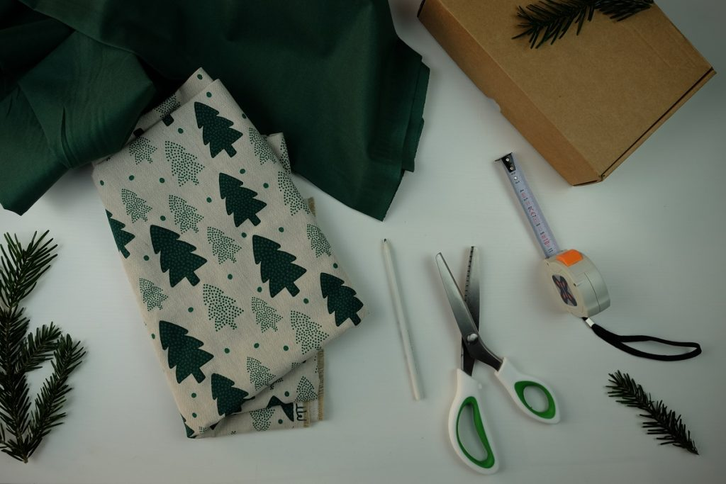 Tutoriel DIY : quel matériel pour un furoshiki sans couture ?